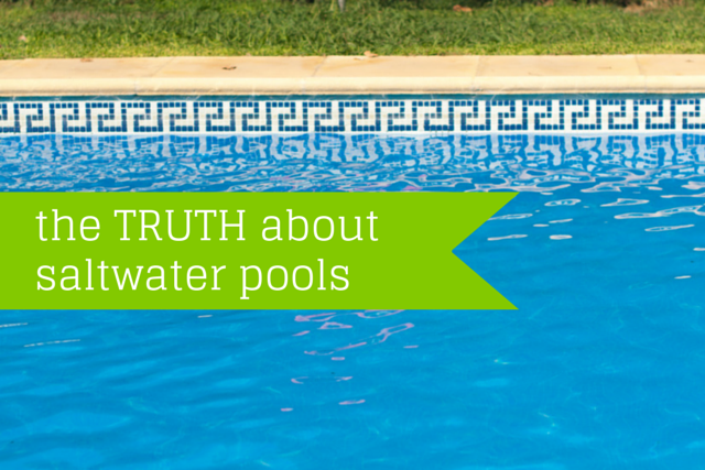 The Truth About Saltwater Pools Clear Choice Australia